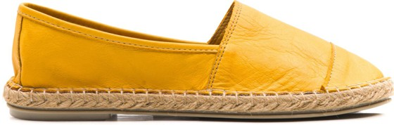 LEATHER WOMAN ESPADRILLE